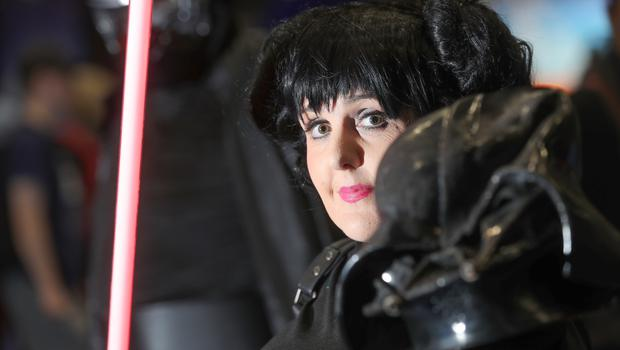 Laura Murphy as a Dark Princess Leia  at the Showtime Comic Con in  Titanic Exhibition centre, Belfast. (Photo by Colm O'Reilly, Sunday Life) (Photo by Colm O'Reilly, Sunday Life)