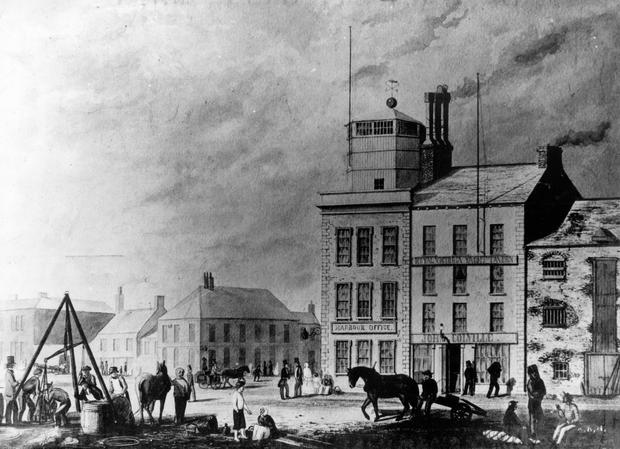The Old Harbour Office, Belfast. BELFAST TELEGRAPH ARCHIVE