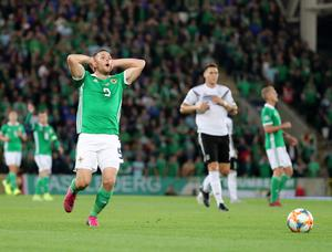 Conor Washington made only seven league starts after his switch to Edinburgh last summer.