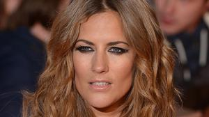 Caroline Flack arriving for the 2014 National Television Awards at the O2 Arena, London (PA)