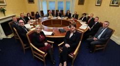 The Northern Ireland Executive met on Tuesday morning.