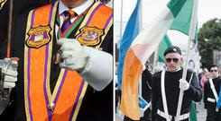 'We have to be Northern Ireland and just tribes of Orange and Green'