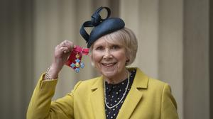 Wendy Craig was awarded a CBE for services to drama and charity (Victoria Jones/PA)