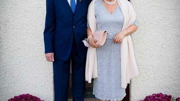 The couple celebrated their 50th wedding anniversary last year