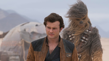 Old friends: Han and Chewbacca in Solo