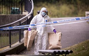 Police and forensics at the scene of an incident in the Waterworks area of north Belfast on June 13th 2020 Photo by Kevin Scott for Belfast Telegraph)