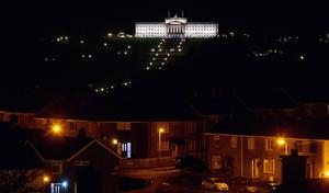 General views of Stormont Parliament Buildings as politicians discuss possible covid 19 restrictions on December 20th 2020 (Photo by Kevin Scott for Belfast Telegraph)
