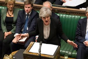 Prime Minister Theresa May addressing the House of Commons. Credit: UK Parliament/Mark Duffy/PA Wire