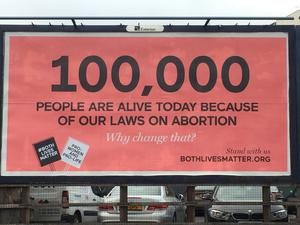 The Both Lives Matter billboard campaign in Northern Ireland
