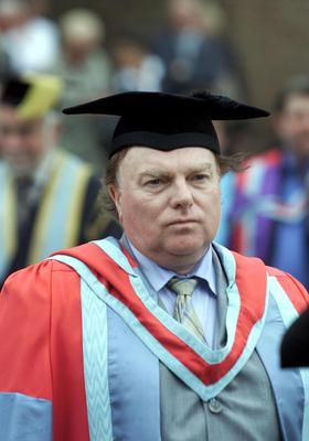 Van Morrison received an honorary doctorate from Queen's University Belfast.