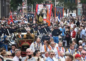 The 12th of July Parade in Belfast