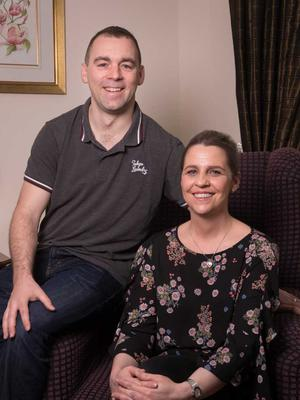 Craigavon couple Angela and Frank McCabe have welcomed the expansion of the Charis cancer care charity.