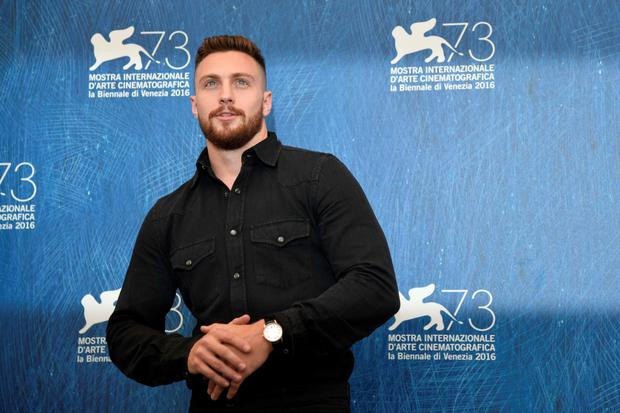 "Actor Aaron Taylor-Johnson attends the photocall of the movie ""Nocturnal Animals"" presented in competition at the 73rd Venice Film Festival on September 2, 2016 at Venice Lido.TIZIANA FABI/AFP/Getty Images"