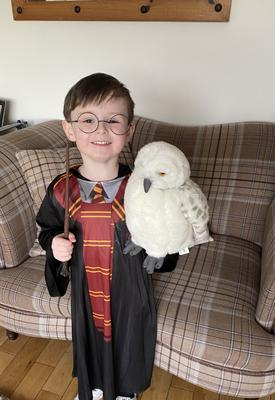 James Lynch, age 4 from west Belfast as Harry Potter