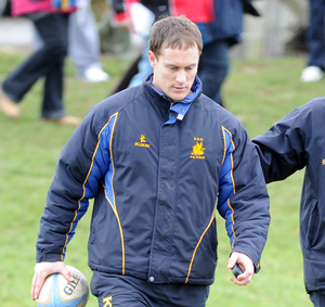 Determined: Ulster Junior coach Jason Morgan