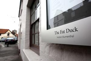 Heston's The Fat Duck restaurant in Bray, Berkshire which made it to the number three spot