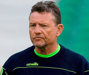 Ireland head coach Graham Ford