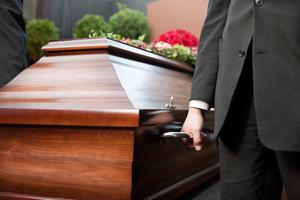 Memorial services for the dead could be postponed if the coronavirus crisis worsens.