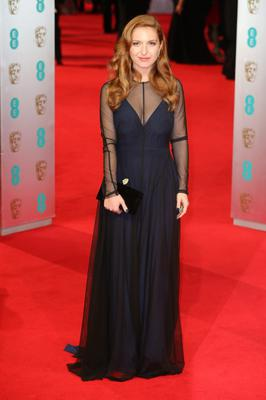 LONDON, ENGLAND - FEBRUARY 16: Josephine de la Baume attends the EE British Academy Film Awards 2014 at The Royal Opera House on February 16, 2014 in London, England.  (Photo by Chris Jackson/Getty Images)