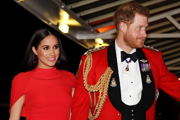 Meghan and Harry have called local sheriff's deputies nine times since moving to Montecito, figures reveal (Simon Dawson/PA)