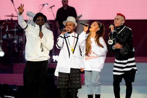 Ariana Grande's One Love Manchester tribute gig in aid of victims of the Manchester Arena terror attack. (Dave Hogan for One Love Manchester/PA Wire)