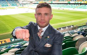 Frampton beat Luke Jackson at Windsor back in August 2018 and he wants another bout at the National Football Stadium.