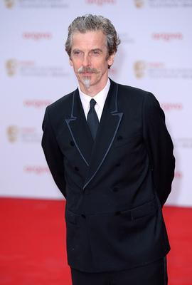 Peter Capaldi arriving for the 2013 Arqiva British Academy Television Awards at the Royal Festival Hall, London. PRESS ASSOCIATION Photo. Picture date: Sunday May 12, 2013. See PA story SHOWBIZ Bafta. Photo credit should read: Dominic Lipinski/PA Wire