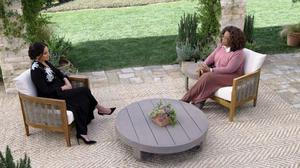 Undated Harpo Productions handout photo of the Duchess of Sussex during her interview of with Oprah Winfrey.Issue date: Friday March 5, 2021.