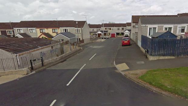 The device was found in the Tarry Drive area of Lurgan. Pic Google Maps