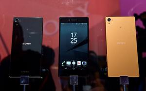 Newly released Sony Xperia Z5 smartphones are on display at the booth of Japan's electronics giant Sony ahead of the opening of the 55th IFA (Internationale Funkausstellung), on September 2, 2015 in Berlin. IFA, one of the world's biggest consumer electronics shows, opens for the media before the public is invited from September 4 to 9.  AFP PHOTO / JOHN MACDOUGALLJOHN MACDOUGALL/AFP/Getty Images