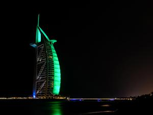 The Burj al Arab hotel, Dubai (Tourism Ireland/PA)