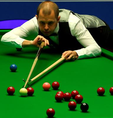 Snooker ace Barry Hawkins