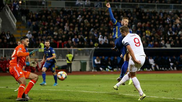 England's Harry Kane scored in every game in Euro 2020 qualifying (Steven Paston/PA