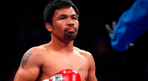 Ring master: Manny Pacquiao is the oldest ever welterweight champion