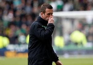 Celtic manager Ronny Deila during the William Hill Scottish Cup semi-final match at Hampden Park, Glasgow. PRESS ASSOCIATION Photo. Picture date: Sunday April 17, 2016. See PA story SOCCER Rangers. Photo credit should read: Danny Lawson/PA Wire. EDITORIAL USE ONLY