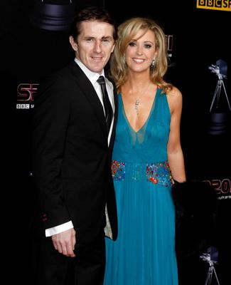 BBC Sports Personality of the Year 2011...MANCHESTER, UNITED KINGDOM - DECEMBER 22: AP McCoy and wife Chanelle McCoy (R) attend the awards ceremony for BBC Sports Personality of the Year 2011 at Media City UK on December 22, 2011 in Manchester, England. (Photo by Nathan Cox/Getty Images)...S