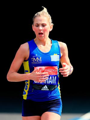 Laura Graham will be out to reclaim her Belfast Marathon title