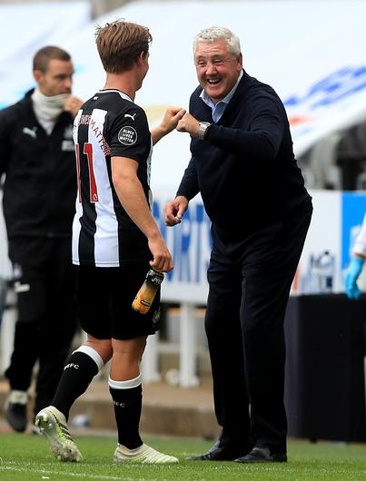 Matt Ritchie and Steve Bruce have been in the news (Owen Humphreys/PA)