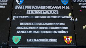 Memorial to William Edward Hampton (Liam McBurney/PA)