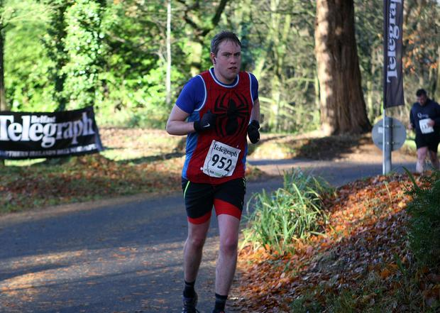 Mandatory Credit - Picture by Freddie Parkinson/Press Eye © Saturday 19th November 2016 Belfast Telegraph Run Forest Run Drum Manor Forest Park, Drum Road, Cookstown BT80 9RT Simon Jenkinson from Belfast