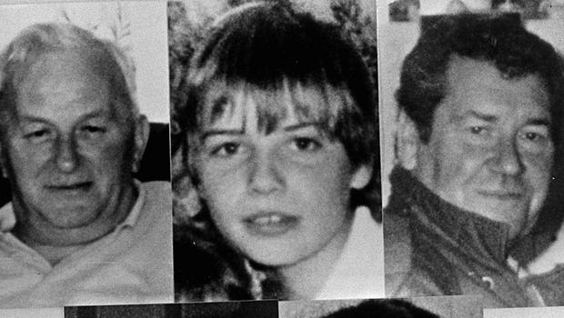 The victims of the attack on Sean Graham bookmakers. Top left to bottom right: Jack Duffin, Peter Magee, William McManus, James Kennedy and Christy Doherty. Photo: Pacemaker.
