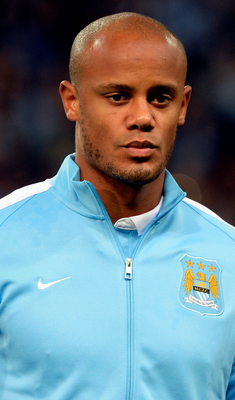 Manchester City are still unsure when captain Vincent Kompany will be fit to return to action