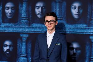 """Isaac Hampstead Wright attends the season six premiere of  """"Game Of Thrones"""" at TCL Chinese Theatre on Sunday, April 10, 2016, in Los Angeles. (Photo by Jordan Strauss/Invision/AP)"""