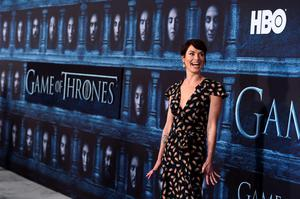 """Lena Headey attends the season six premiere of  """"Game Of Thrones"""" at TCL Chinese Theatre on Sunday, April 10, 2016, in Los Angeles. (Photo by Jordan Strauss/Invision/AP)"""