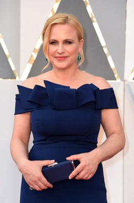 Patricia Arquette arrives on the red carpet for the 88th Oscars on February 28, 2016 in Hollywood, California. AFP PHOTO / VALERIE MACONVALERIE MACON/AFP/Getty Images
