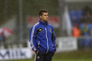 Northern Ireland Victory Shield manager Stephen Robinson