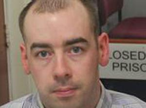 John Patrick Smyth was reported as unlawfully at large on Monday.