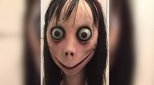 Police have warned parents of the dangers of the Momo Challenge.