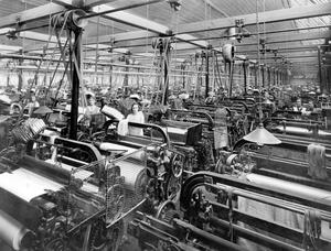 Linen Industry:Plain Weaving Shop, Brookfield Factory. 3/3/1939