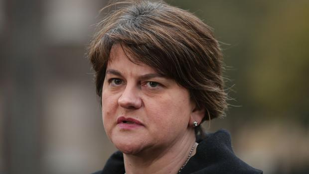 DUP leader Arlene Foster said abortion was a devolved issue for the Northern Ireland Assembly to debate and decide (Yui MOk/PA)